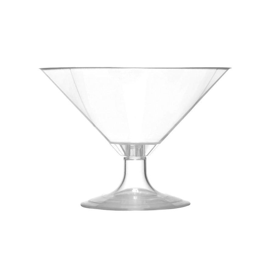70 Compostable Martini Glasses-Drinkware-SelfEco-VinGrotto Wine Cellar Construction Company