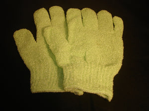 MiaFabs Body Exfoliating Bath  Gloves