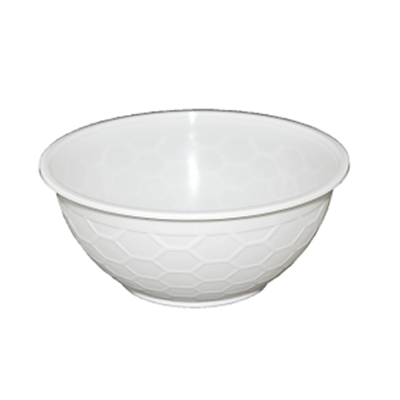 CONTAINER BOWL WHITE 1050ML 400PCS - JP Supplies