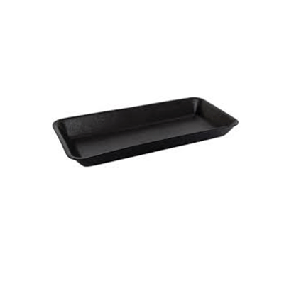 FOAM TRAY DEEP 11X5 BLACK 500PCS - JP Supplies