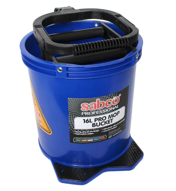 16L PRO MOP BUCKET BLUE - JP Supplies