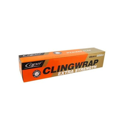 WRAP CLING 45CMX600M 1PCS CAPRI - JP Supplies