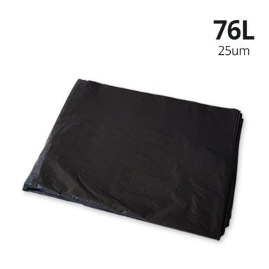 76L BLACK HEAVY DUTY 250PCS - JP Supplies
