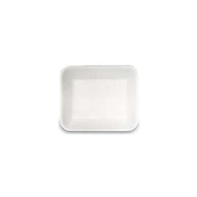 FOAM TRAY DEEP 7X5 WHITE 500PCS - JP Supplies
