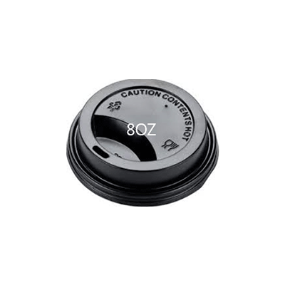 CUP PAPER LID 6/8OZ BLACK 1000PCS PERFECT - JP Supplies