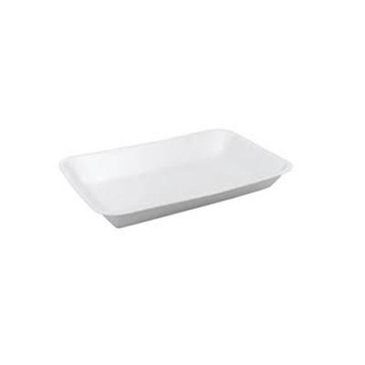 FOAM TRAY DEEP 8X5 WHITE 500PCS - JP Supplies