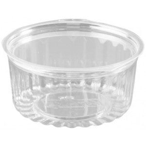 SHOBOWL FLAT LID 8OZ 250PCS CAPRI - JP Supplies