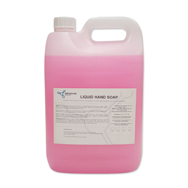 HAND SOAP ANTIBACTERIA PINK 5L - JP Supplies
