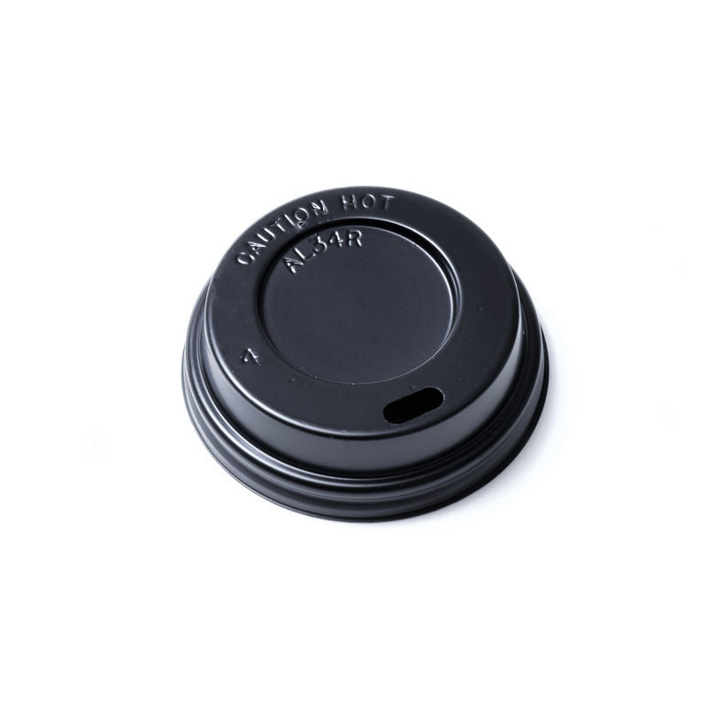 CUP PAPER LID 4OZ BLACK 1000PCS PERFECT - JP Supplies