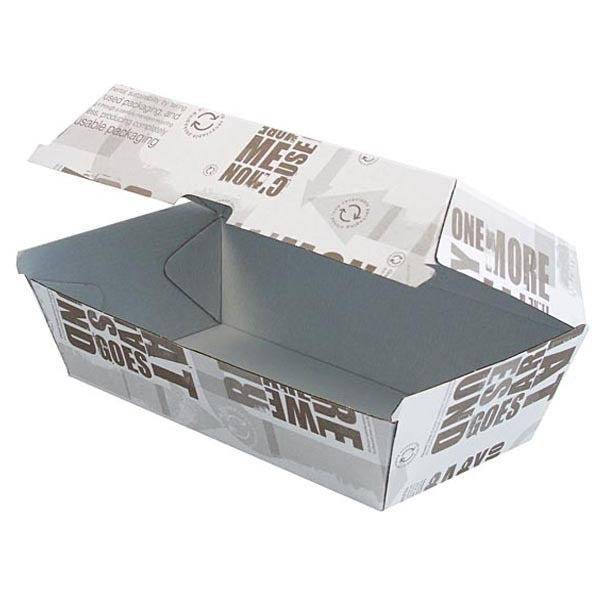 SNACK BOX WHITE REGULAR 200PCS - JP Supplies