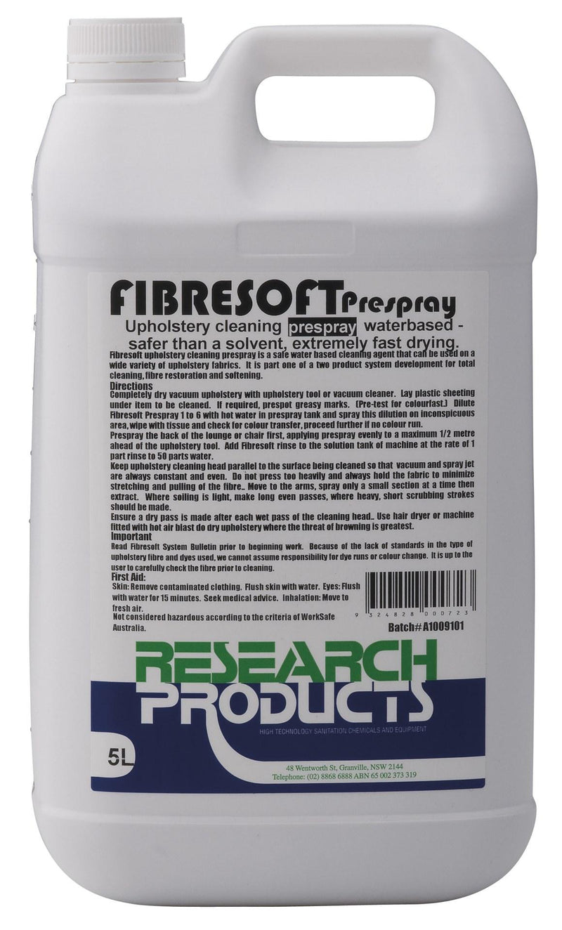 FIBRESOFT PRESPRAY 5L - JP Supplies