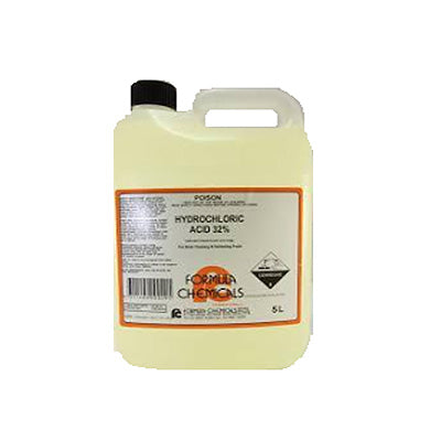 HYDROCHLORIC ACID 5L - JP Supplies