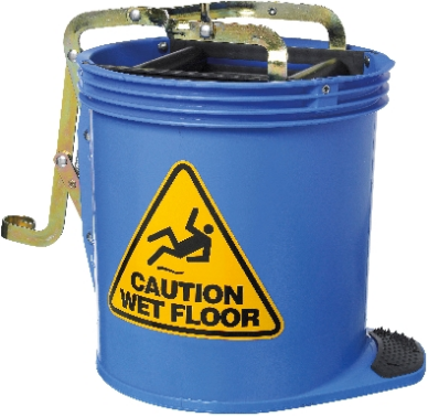 MOP BUCKET 15L BLUE OATES - JP Supplies