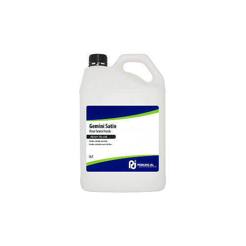 GEMINI SATIN FLOOR POLISH 5L - JP Supplies