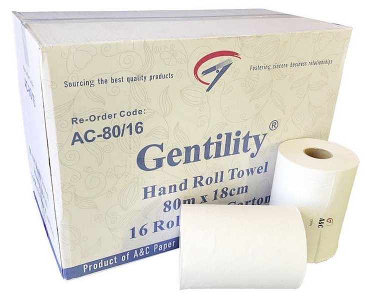ROLL TOWEL 80M A&C - JP Supplies