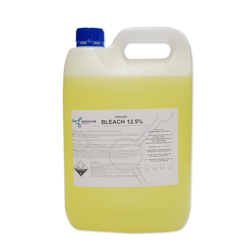BLEACH 5L 12.5% - JP Supplies