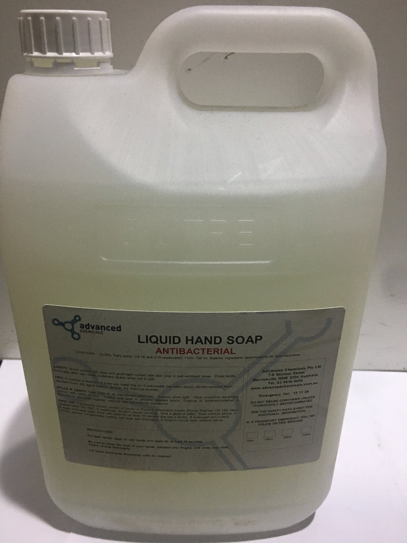 HAND SOAP ANTIBACTERIA WHITE 5L