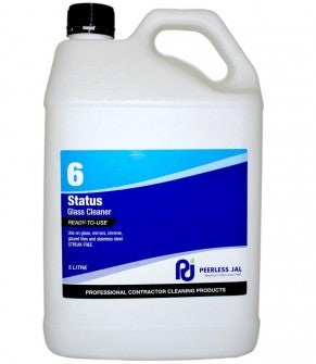 STATUS GLASS CLEANER 5L - JP Supplies