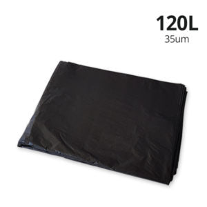 120L BLACK EXTRA HEAVY DUTY 100PCS - JP Supplies