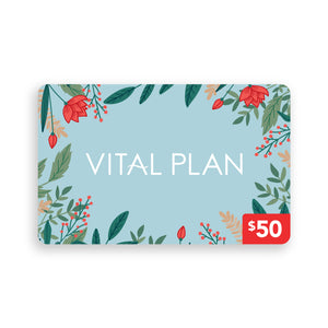 Vital Plan eGift Card