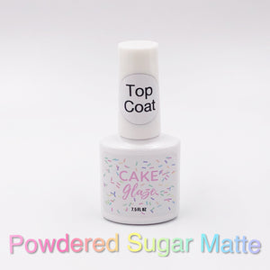Powdered Sugar Matte Top Coat