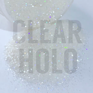 Clear Holo Glitter