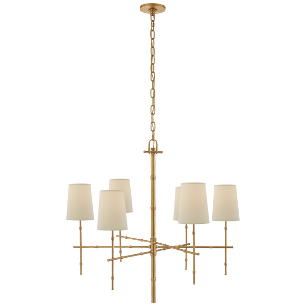 Grenol Medium Modern Bamboo Chandelier