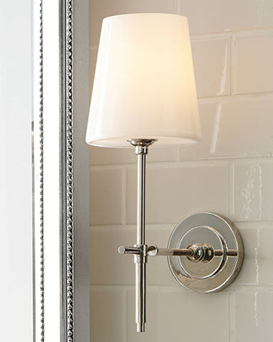 Bryant Sconce w Glass Shade
