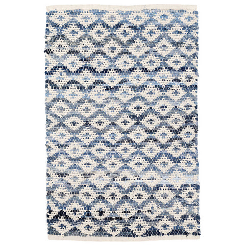 Denim Rag Diamond Ivory