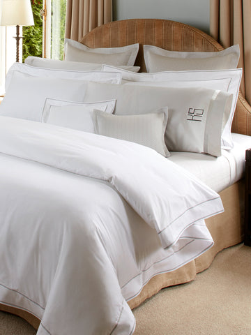 Matouk Ansonia Sham and Pillow Case Collection