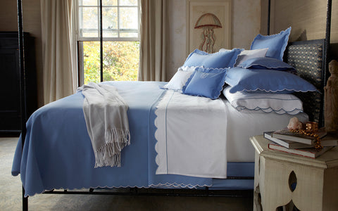 Matouk Diamond Pique Coverlet Collection