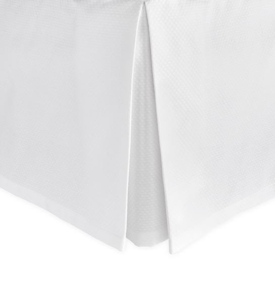 Matouk Diamond Pique Bedskirt Collection