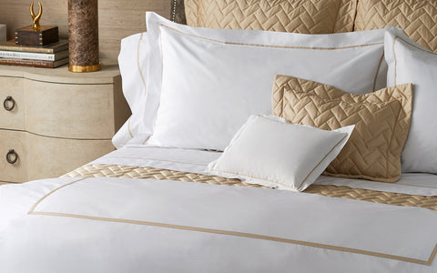 Matouk Gatsby Sham and Pillowcase Collection