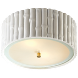 Frank Small Flush Mount with Frosted Glass
