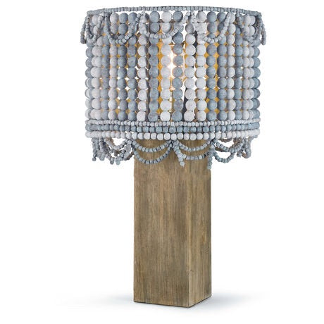Malibu Blue Table Lamp