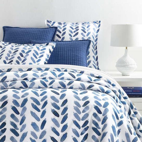 Blue Brush Duvet Collection