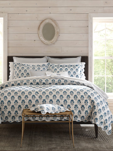 Matouk Joplin Sham and Pillowcase Collection