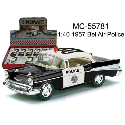 Chevrolet Bel Air Police Car Toy