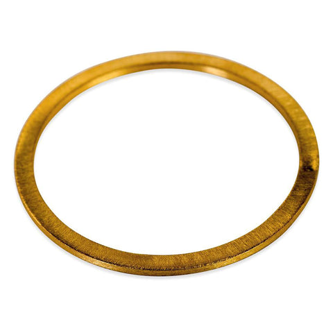 Sheila Fajl:: Flat Bangle- 18K Gold Plated