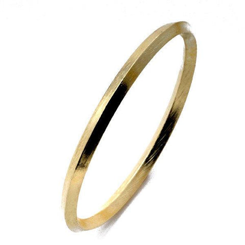 Sheila Fajl:: Medium Peaked Bangle - 18K Gold Plated
