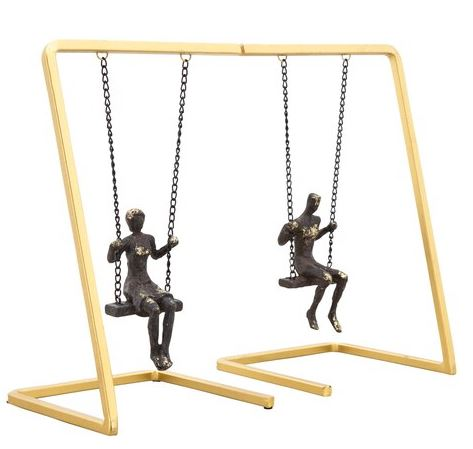 Swinging People Bookends