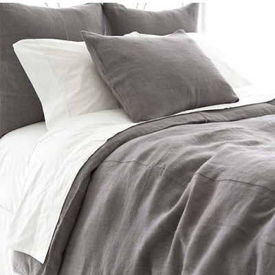 Stone Washed Linen Duvet Collection