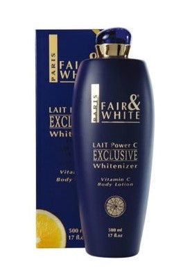 Fair & White Exclusive Whitenizer Lotion Vit-C 17 oz / 500 ml - a1beaute