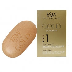 F&W  Gold #1 Ultimate Satin Exfoliating Soap 7 oz / 200g - a1beaute