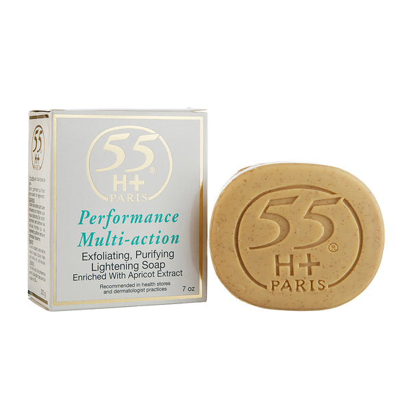 55H+ Performance Multi Action Lightening Soap 7 oz / 200 g - a1beaute