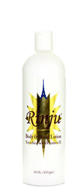 Rinju Body & Hand (white) Lotion 16 oz / 453 ml - a1beaute
