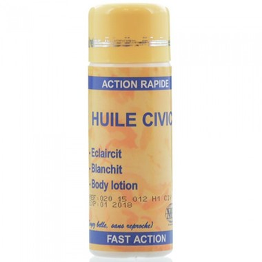 Civic Huile Lightening Body Oil 125ml - a1beaute