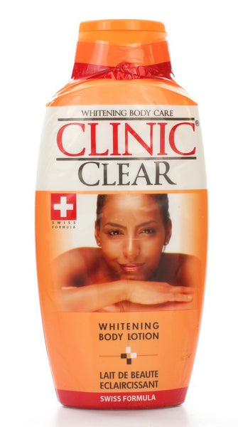 Clinic Clear Whitening Body Lotion 16.7 oz / 500 ml - a1beaute
