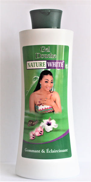 Nature White Shower Gel 1000 ml - a1beaute