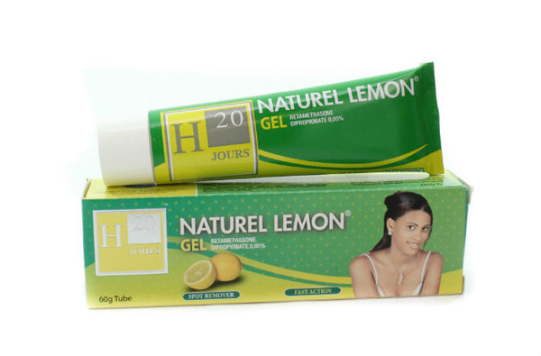 H20 Natural Lemon Gel Tube 2.11 oz / 60g - a1beaute
